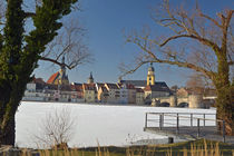 Kitzingen Winterlandschaft von Heiko Esch