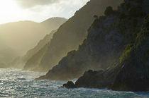 Küste Cinque Terre von Heiko Esch