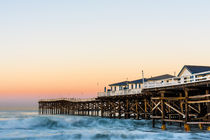 Crystal Pier Dawn In San Diego by Priya Ghose