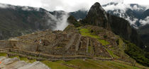 Panoramic at Machu Pichu von mariana clotta
