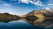 Alpen Reflection by Antonio Jorge Nunes