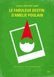 No311 My Amelie minimal movie poster von chungkong
