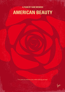 No313 My American Beauty minimal movie poster von chungkong