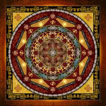 Mandala Oriental Bliss von Bedros Awak