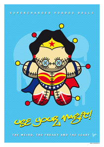 My SUPERCHARGED VOODOO DOLLS WONDER WOMAN von chungkong