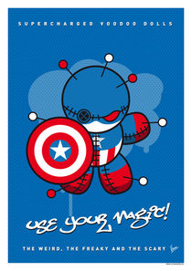 My SUPERCHARGED VOODOO DOLLS CAPTAIN AMERICA von chungkong