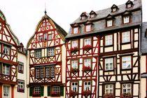 Fachwerkhäuser am Marktplatz von Bernkastel von gscheffbuch