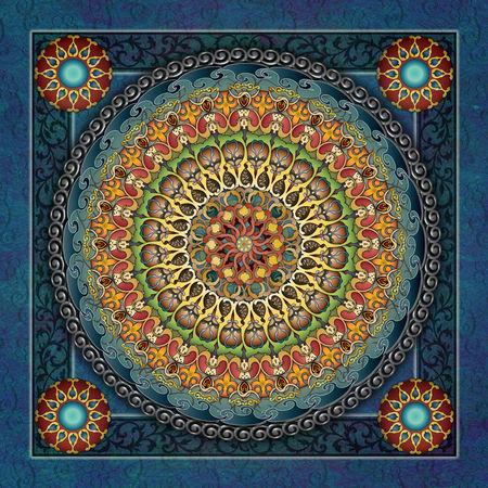 Mandala-fantasia