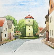 Wasserturm in Jüdendorf by Heike Jäschke