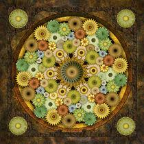 Mandala Stone Flowers von Bedros Awak