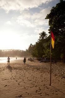 Mirissa beach by Karen Cowled