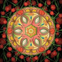 Mandala Tulipa by Bedros Awak