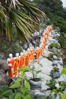 Buddha statues by Karen Cowled