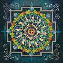 Mandala Night Wish von Peter  Awax