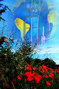Blick zurück,schöne Erde,wie lange noch? by Walter Zettl