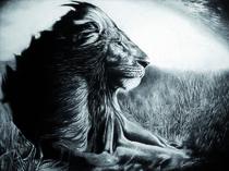 Der Löwe von Stephanie Blodau