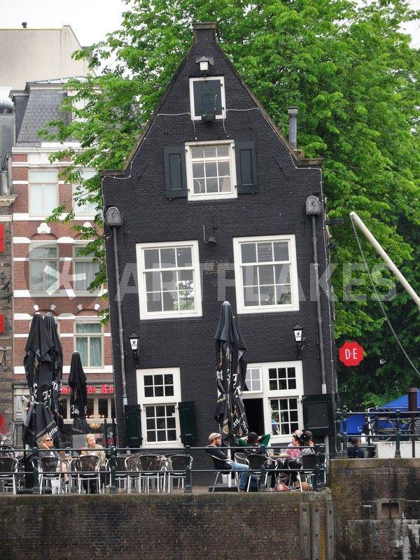 Schwarzes Haus sightsseeing amsterdam das schiefe gasthaus picture prints