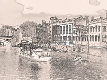 York with pencil and tint by Robert Gipson