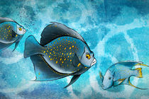 Blue Fish Fantasy by Bedros Awak