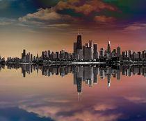 City-skyline-dusk