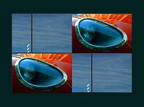 """Viererbild """"Himmelblau im Glas"""" pp von lisa-glueck"""