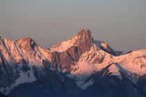 Alpenglühn von Bruno Schmidiger
