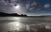 Three Cliffs bay Swansea by Leighton Collins