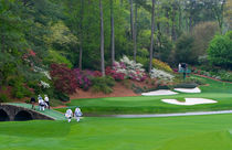 Amen Corner Golf Series Augusta Georgia by Cris  Hayes