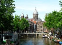 Sightseeing Amsterdam - Grachten by techdog