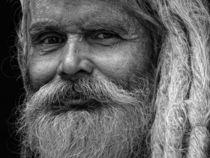Portrait Baba (Kathmandu/Nepal) von Frank Daske