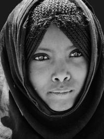 AFAR Mädchen (Äthiopien) von Frank Daske