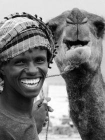 Smile (Hochformat) by Frank Daske