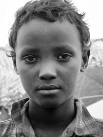 Portrait Junger Afrikaner von Frank Daske