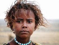 AFAR Mädchen II (Äthiopien) by Frank Daske