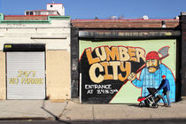 Lumber City von Ulrike Morlock-Fien