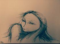woman II von lizzie-rena