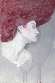 Frau in Grau von Heike Seelig