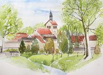 Frühling in Obhausen von Heike Jäschke