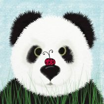 The Panda Bear & His Visitor  by Michelle Brenmark