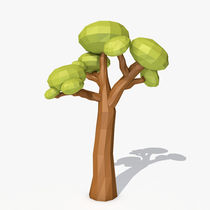 Low poly tree von andrrei