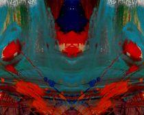 Roter Mohn 3 von Tatjana Wicke