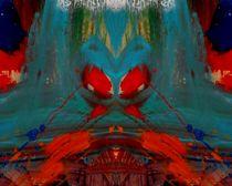 Roter Mohn 1 von Tatjana Wicke
