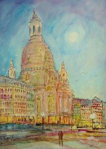 'Dresden die Frauenkirche' by Ingrid  Becker