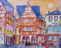 Altstadt in Mainz  von Ingrid  Becker