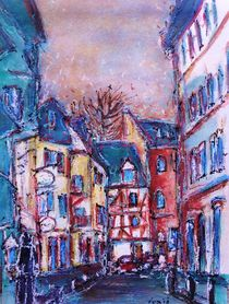 Mainz die Schönbornstraße von Ingrid  Becker