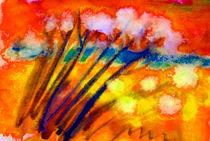 pusteblumen - dandelion by Maria-Anna  Ziehr
