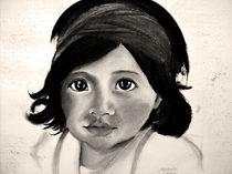 Kleines Mädchen II von Stephanie Blodau