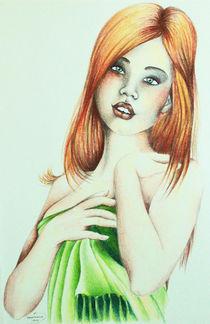 Mädel mit rotem Haar by Stephanie Blodau