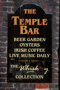 THE TEMPLE BAR - Dublin - Ireland von Jörg Sobottka