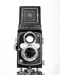 Vintage 1950s Yashica 635 Camera by Jon Woodhams